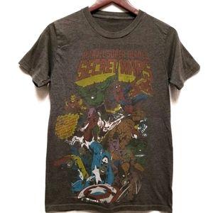 Marvel Superheroes Graphic Tshirt Captain America